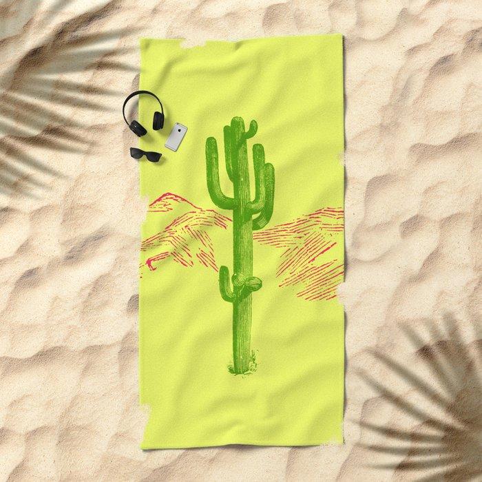Acid Beach Towel
