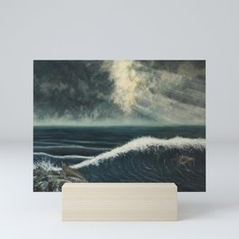 Sea Lion Coast Mini Art Print