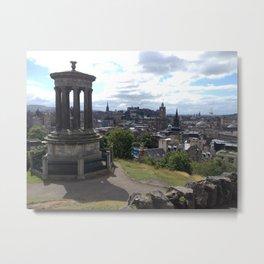 Calton Hill Edinburgh Metal Print