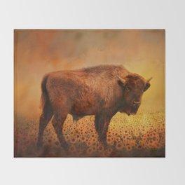 Buffalo Dreams Throw Blanket