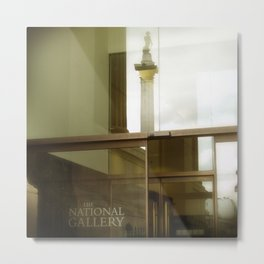 National Gallery London Metal Print