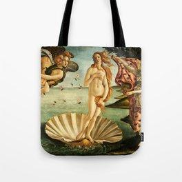 Sandro Botticelli The Birth Of Venus Tote Bag