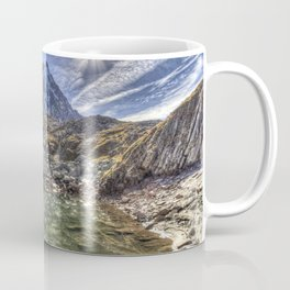 Mont Blanc Glacier Lake Coffee Mug