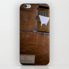 Rome - Via Fori imperiali iPhone Skin