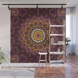 Enchanted Autumn -- Mandala Form Wall Mural
