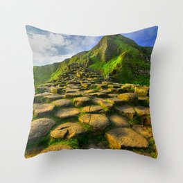 """Causeway Dawn"" Throw Pillow"