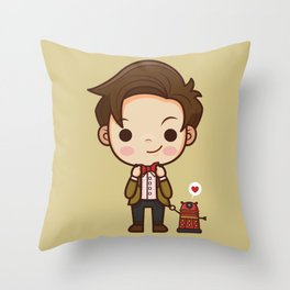 My favorite Doctor Throw Pillow