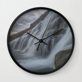 Dynjandi 1 Wall Clock