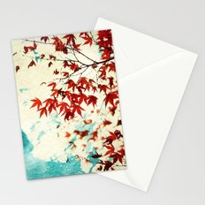 Automne Rouge Stationery Cards