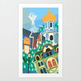 Kyiv Art Print