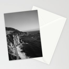 Monochrome Big Sur Stationery Cards
