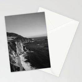 Monochrome Big Sur Stationery Cards