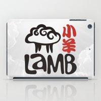 lamb iPad Cases featuring Lamb by biblebox