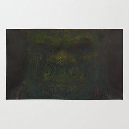 Shrek (oil on canvas) Rug