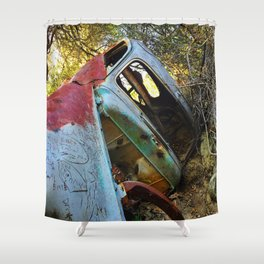 Natural Wreck Shower Curtain