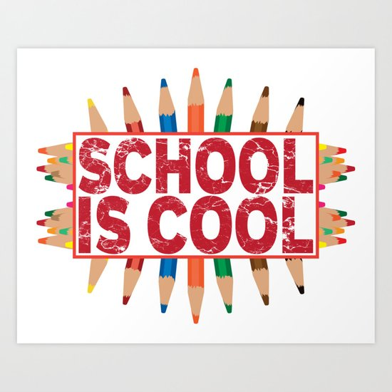 School is cool by melcudesign
