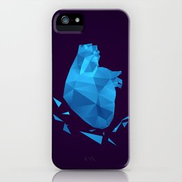 My fractured heart iPhone Case