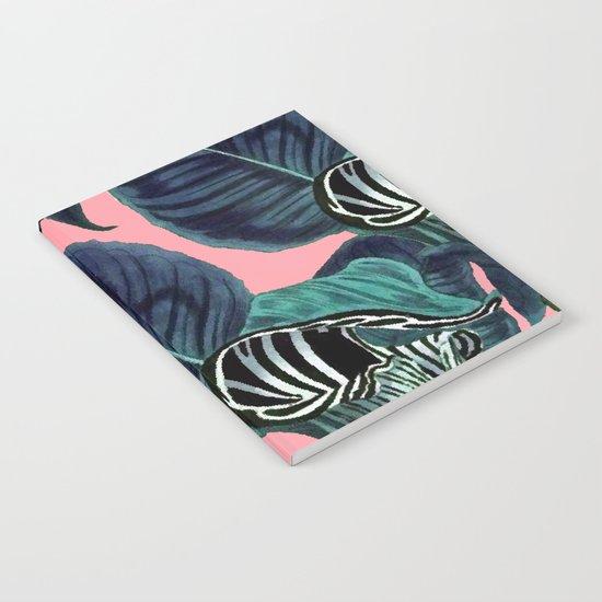 Tropical Flower Pattern #society6 #decor #buyart Notebook