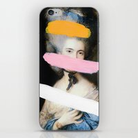 chad wys iPhone & iPod Skins featuring Brutalized Gainsborough 2 by Chad Wys
