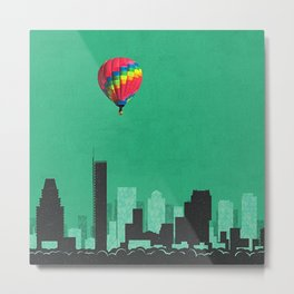 boston coldplay Metal Print