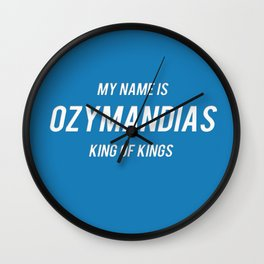 Breaking Bad - Ozymandias  Wall Clock