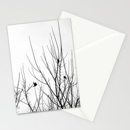 Birds on Branches Stationery Cards