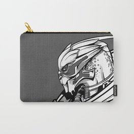 Garrus - B&W profile Carry-All Pouch