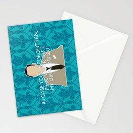 The Empty Hearse - Mycroft Holmes Stationery Cards