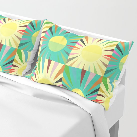 Sunshine pattern by cocosabstractions