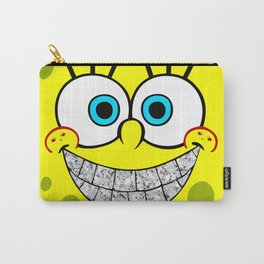 Icey Spongebob With Angry Cheeks Carry-All Pouch
