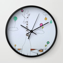 the sky is the limit Wall Clock