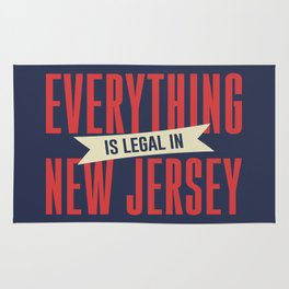 Everything Is Legal In New Jersey Rug