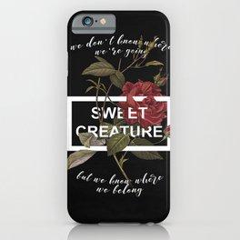 Harry Styles Sweet Creature iPhone Case