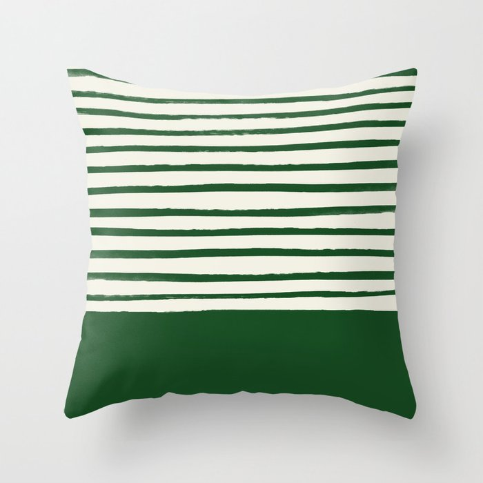 Throw Pillow by Leah Flores
