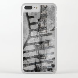 STONE GROOVE Clear iPhone Case