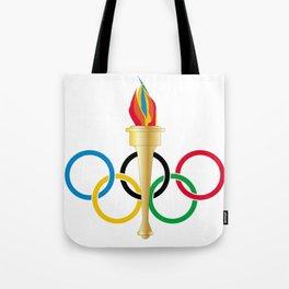 Olympic Rings Tote Bag