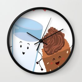 Brownie's-BFF Wall Clock