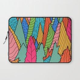 The colourful rainbow forest  Laptop Sleeve