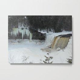 Tahquamenon Winter Metal Print