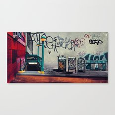 The New York Underground Canvas Print