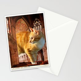A knave in the nave Stationery Cards