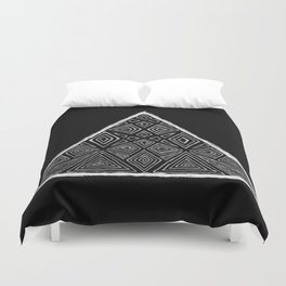 Root Two Triangle  Duvet Cover