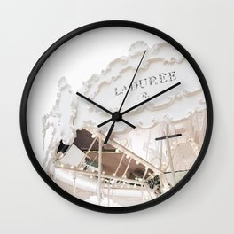 Laduree Wall Clock