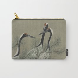 Japanese Red Crowned Crane Carry-All Pouch