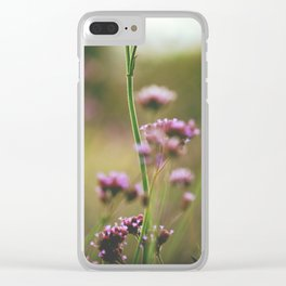 Wild Meadow Clear iPhone Case