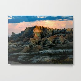 Dragon Mountains Metal Print