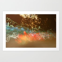 Ray of Lights Art Print