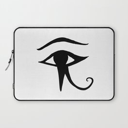 JAMILA logo ~ Eye of Horus Laptop Sleeve