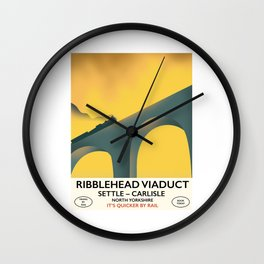 Ribblehead Viaduct Yorkshire Wall Clock