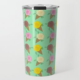 Roses Are Neapolitan Ice Cream Travel Mug
